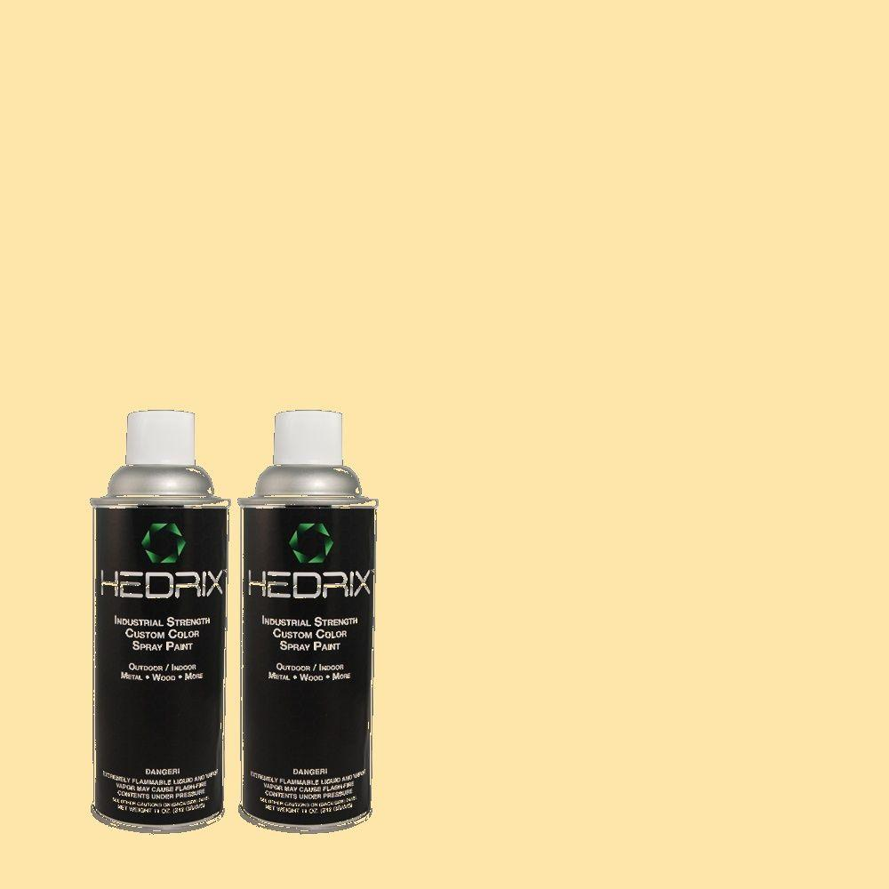 Spray Paint: Hedrix Paint 11 oz. Match of Wickerware Low Lustre Custom Spray Paint (2-Pack), Color Match Of 360c-2 Wickerware. Available In Low Lustre Or Gloss Finishes. 360C-2