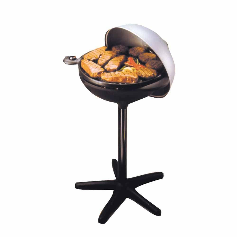 George Foreman 240 sq. in. Indoor/Outdoor Electric Barbeque Grill-DISCONTINUED