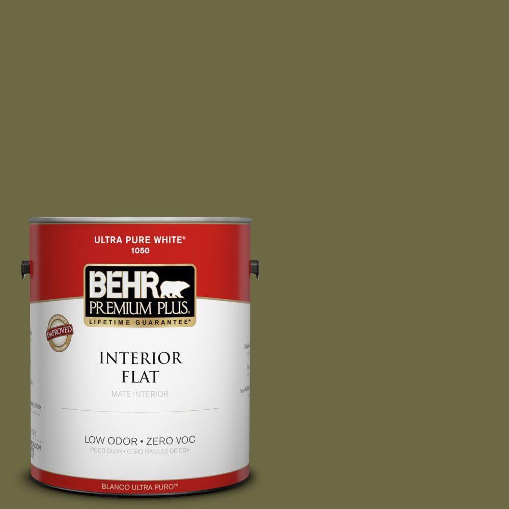 BEHR Premium Plus Home Decorators Collection 1-gal. #HDC-CL-20 Portsmouth Olive