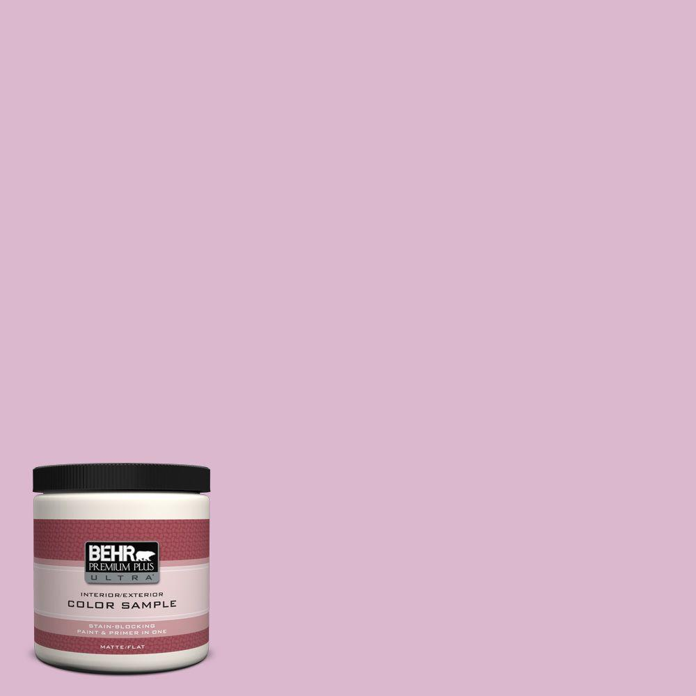 8 oz. #M120-3 Pink Wink Interior/Exterior Paint Sample