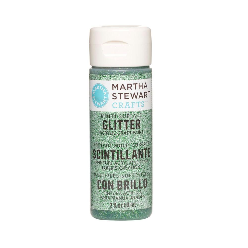 2-oz. Verdelite Multi-Surface Glitter Acrylic Craft Paint