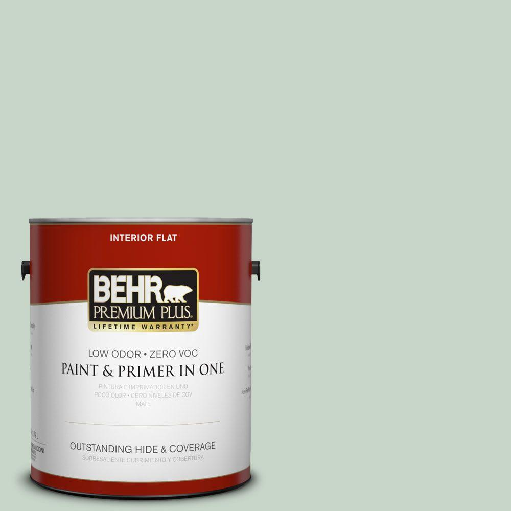 1-gal. #S410-2 New Moss Flat Interior Paint
