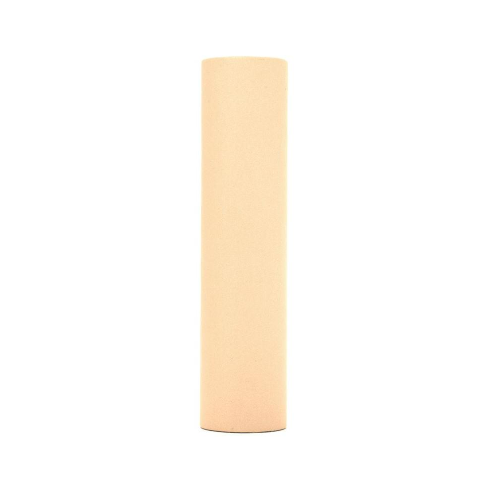 kaarskoker Solid 4 in. x 7/8 in. Warm Oatmeal Paper Candle Covers, Set of 2