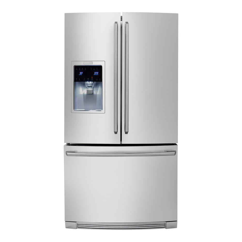Electrolux IQ-Touch 26.7 cu. ft. French Door Refrigerator in Stainless Steel