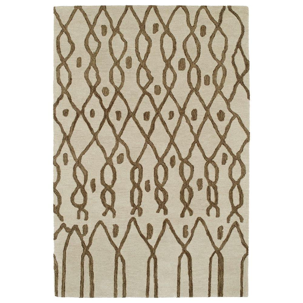Casablanca Ivory 2 ft. x 3 ft. Area Rug