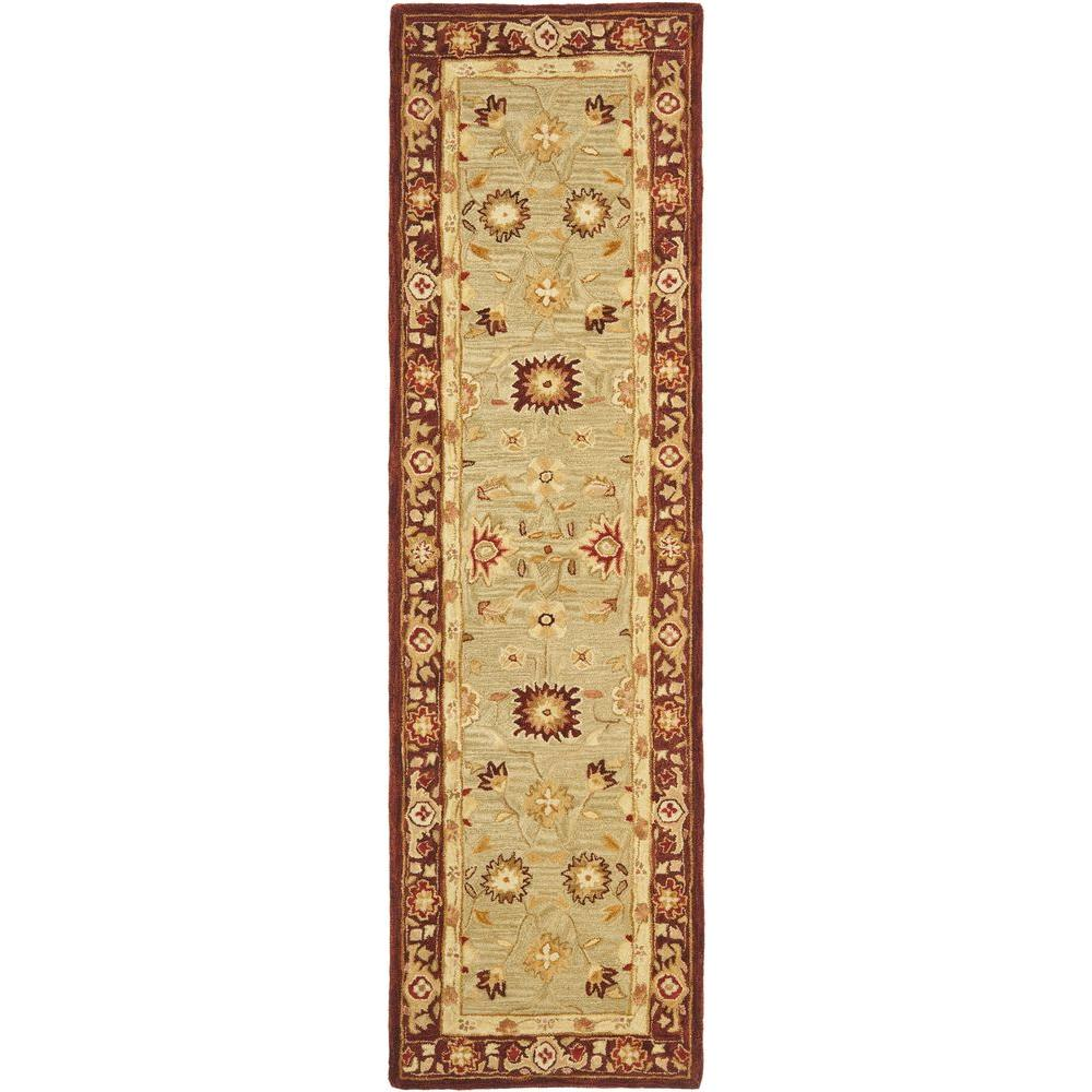 Anatolia Sage 2 ft. 3 in. x 10 ft. Rug Runner