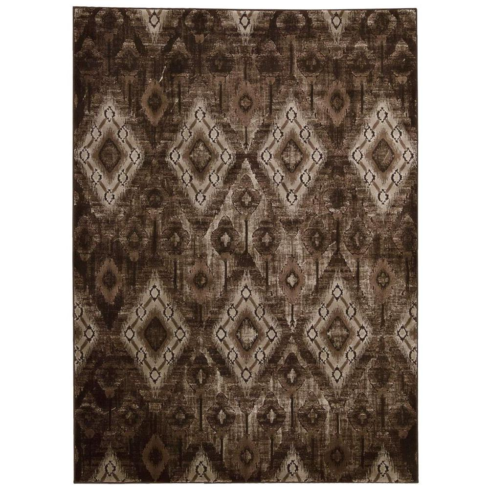 Karma Chocolate 9 ft. 3 in. x 12 ft. 9 in.