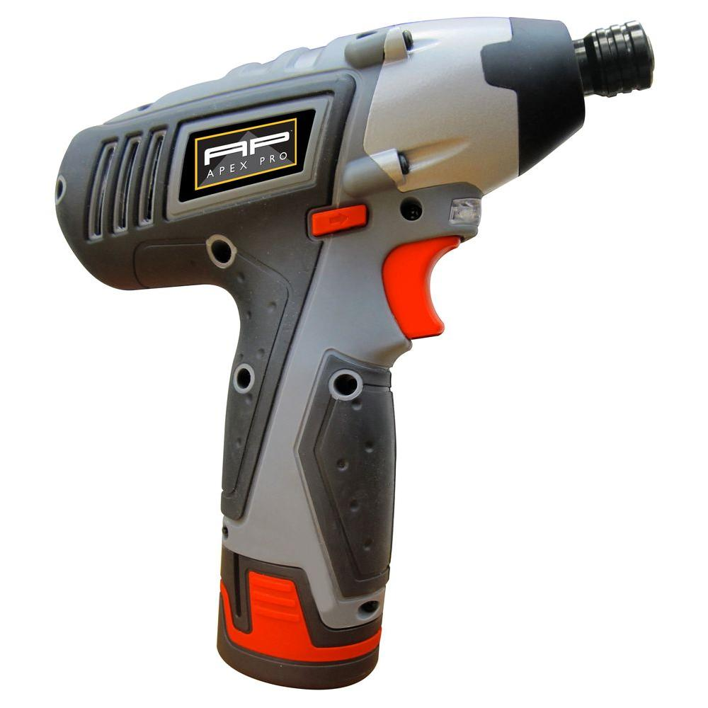 WEN 12-Volt Lithium-Ion Cordless Impact Driver-49212 - The Home Depot