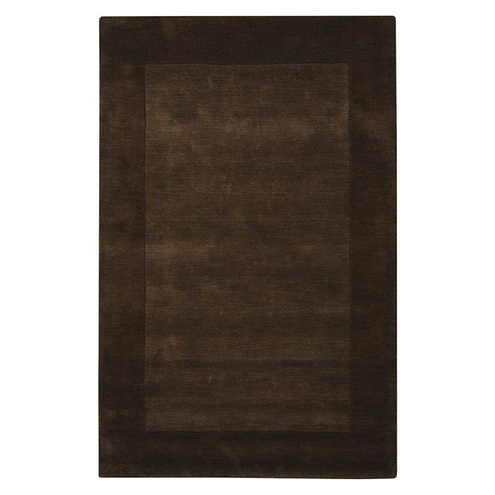 Home Decorators Collection Melrose Chocolate 9 ft. 9 in. x 13 ft. 9 in. Area Rug