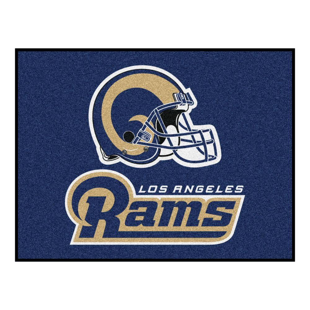 Los Angeles Rams 2 ft. 10 in. x 3 ft. 9
