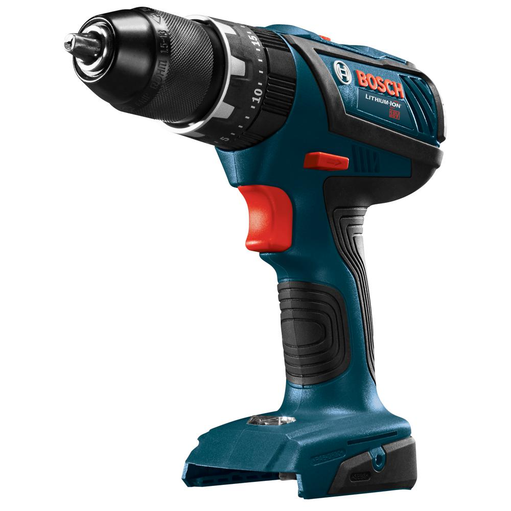 bosch 18 volt 1 2 in cordless compact tough hammer drill. Black Bedroom Furniture Sets. Home Design Ideas