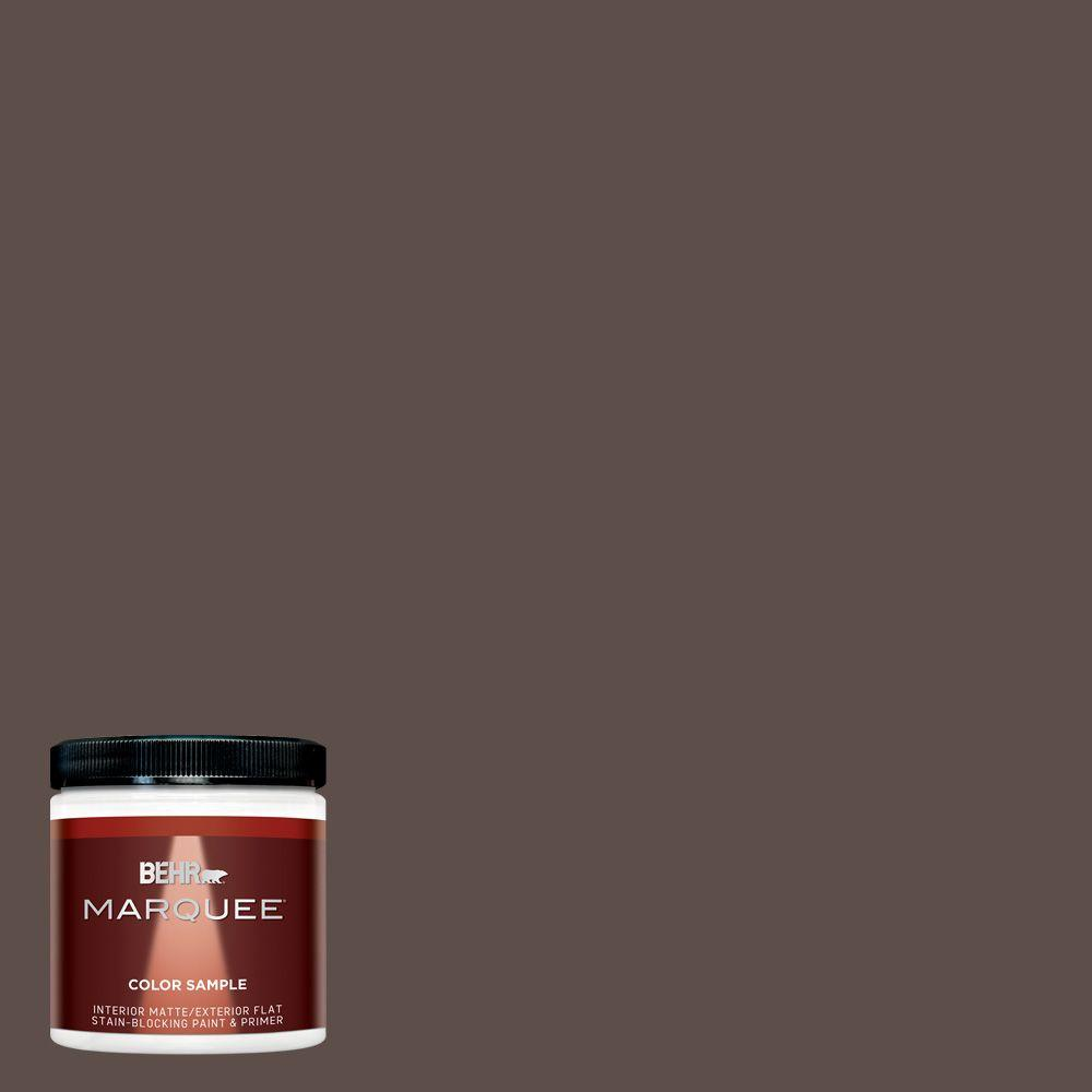 BEHR MARQUEE 8 oz. #MQ2-35 Cabin in the Woods Interior/Exterior Paint Sample