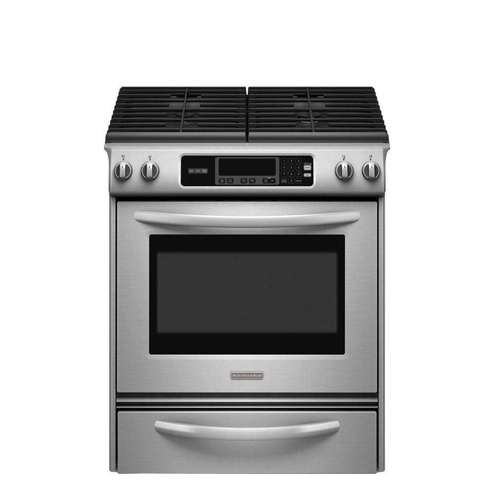 Kitchenaid Ranges Architect Series Ii 30 In 4 1 Cu Ft