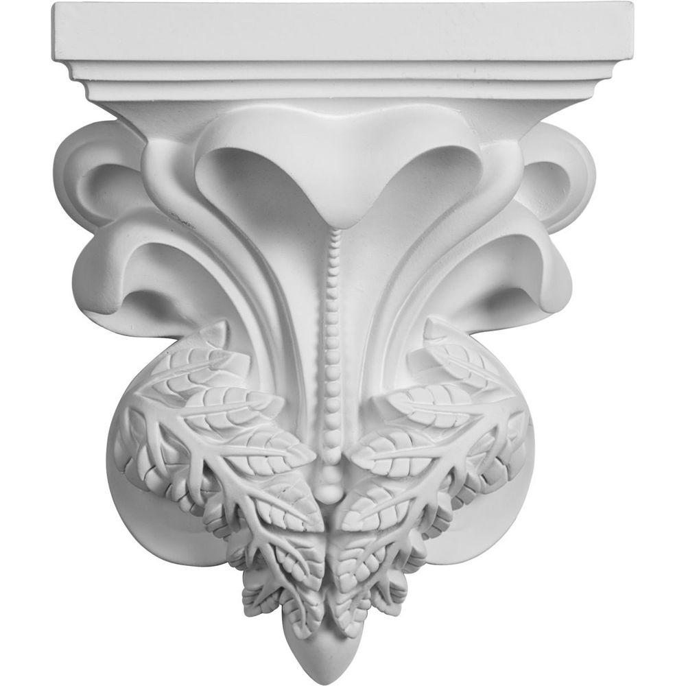 7-1/8 in. x 3-3/4 in. x 8-5/8 in. Polyurethane Nicole Corbel