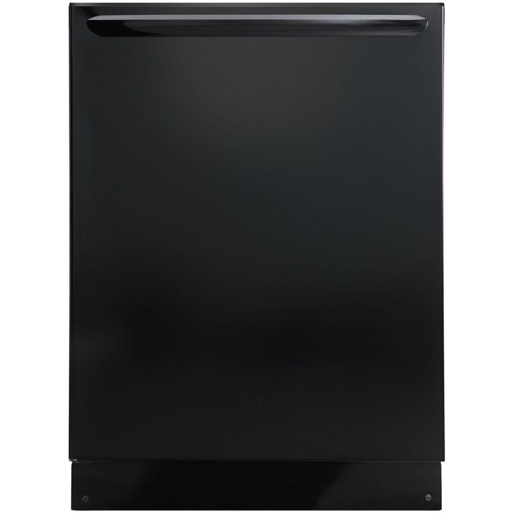Top Control Built-In Dishwasher with OrbitClean Spray Arm in Black