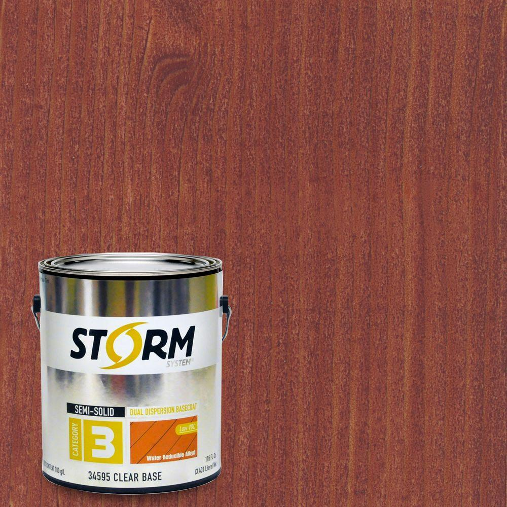1 gal. Redwood Exterior Semi-Solid Dual Dispersion Wood Finish