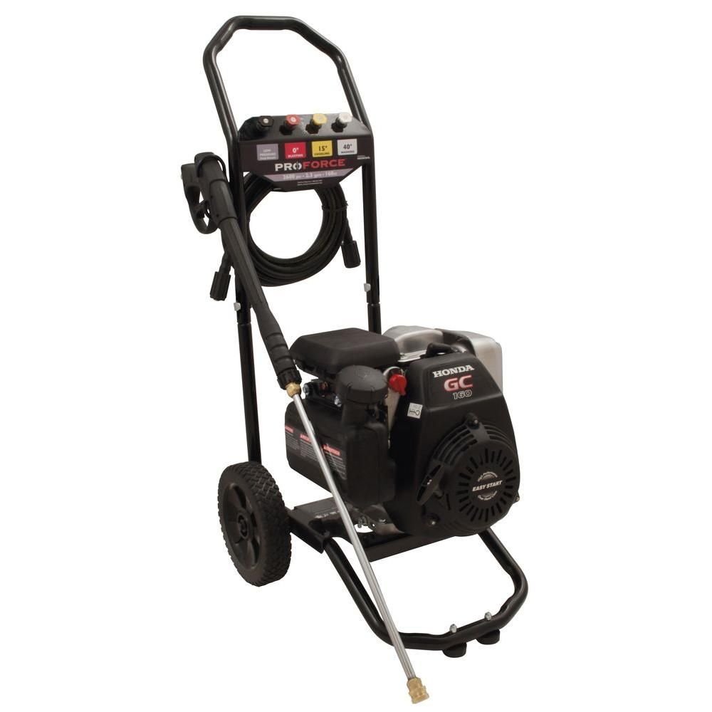ProForce 2600-PSI 2.3-GPM Gas Pressure Washer