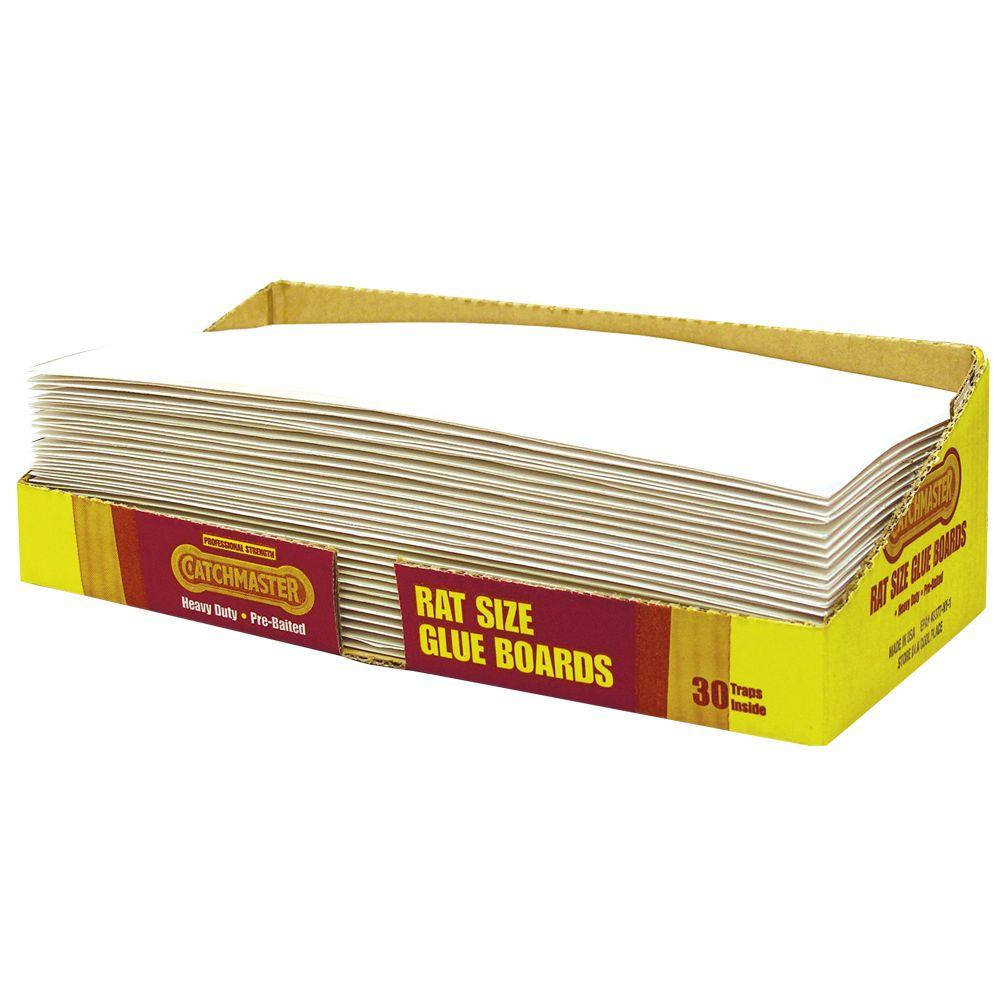 Catchmaster Rat Size Bulk Glue Boards 30r The Home Depot