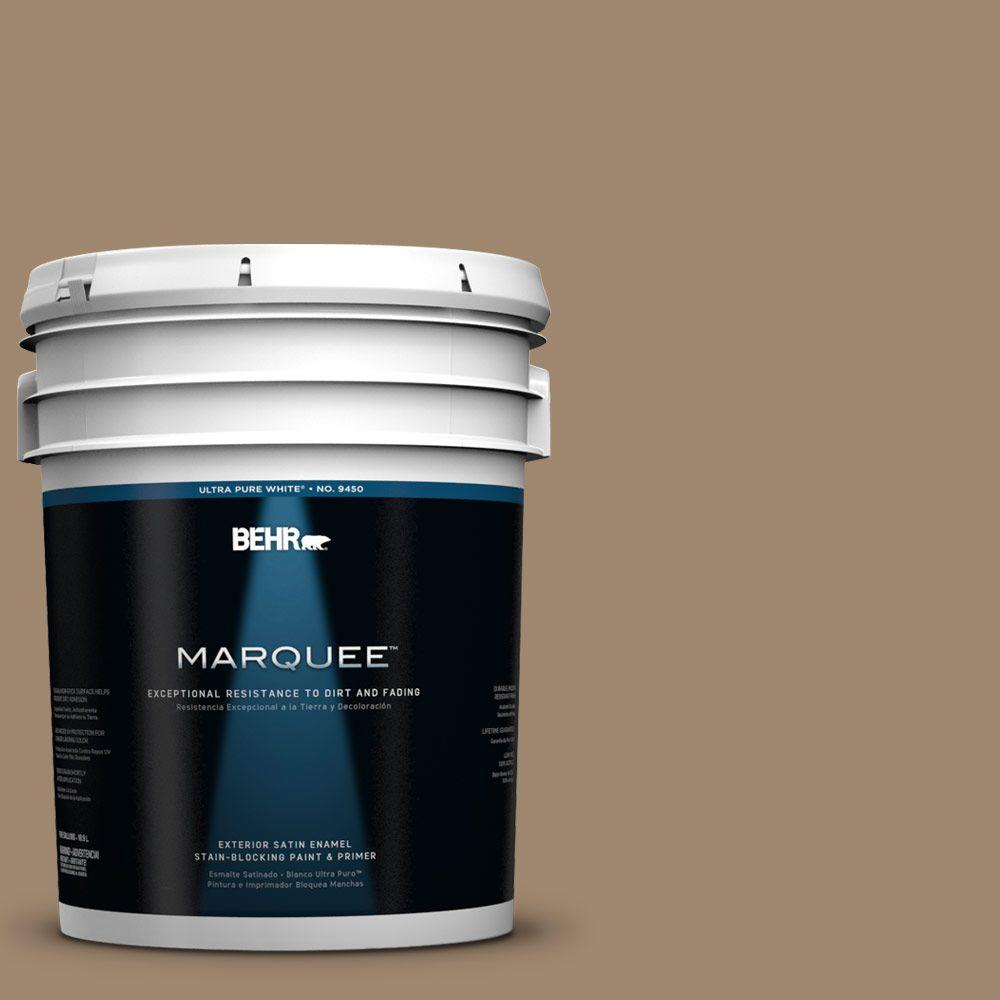 5-gal. #700D-5 Toffee Crunch Satin Enamel Exterior Paint