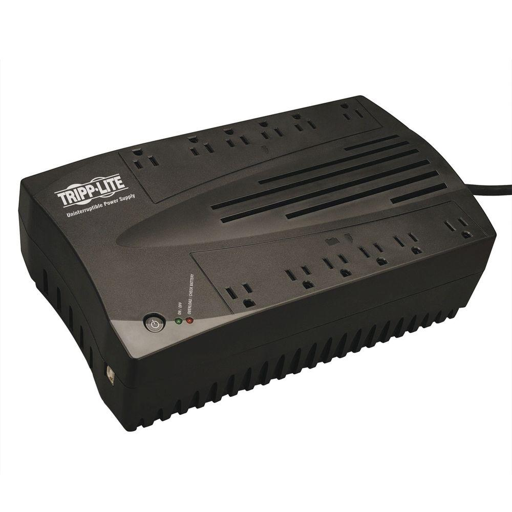 750VA 450-Watt UPS Desktop Battery Back Up AVR Compact 120-Volt USB