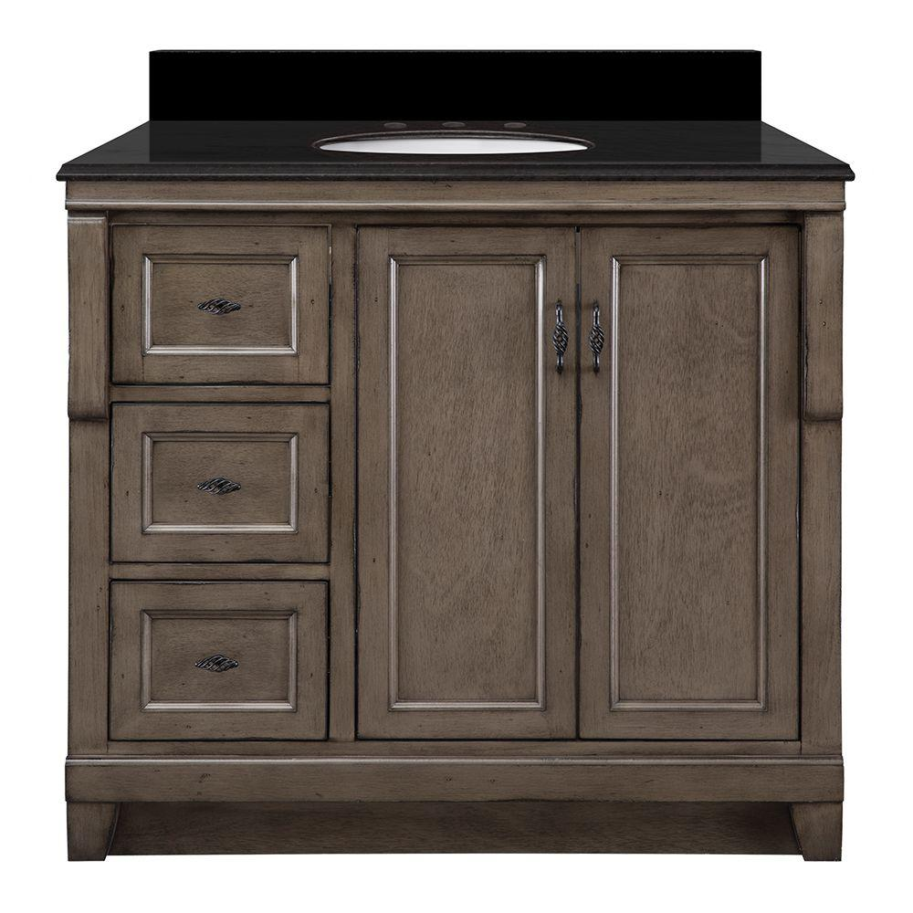 Foremost Naples 37 in. W x 22 in. D Vanity in