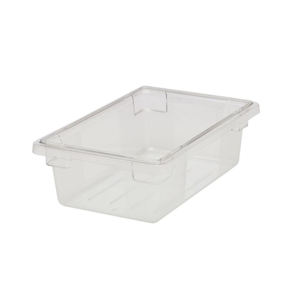 Rubbermaid Commercial Products 3-1/2 gal. Clear Food Storage Box-FG330900CLR -