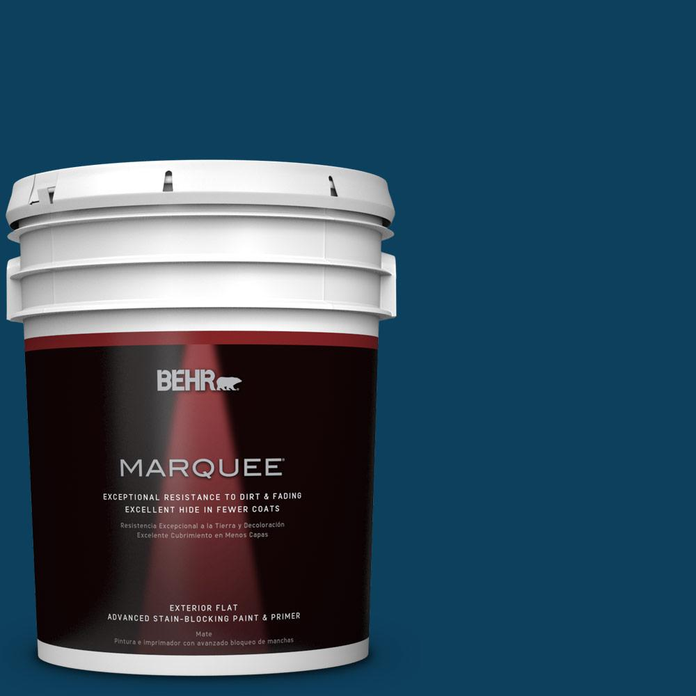 5-gal. #ECC-53-3 Outer Space Flat Exterior Paint