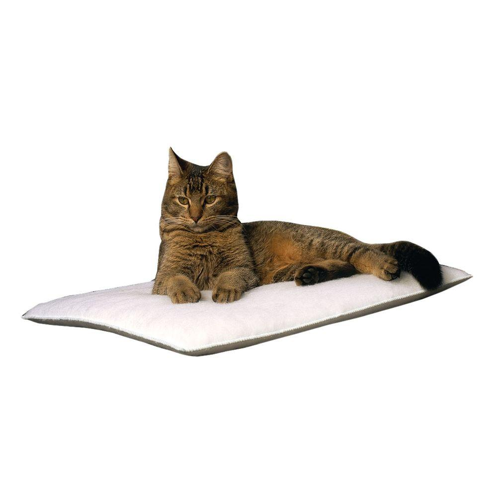 Carolina Pet Company Purr Pad Medium White Bed
