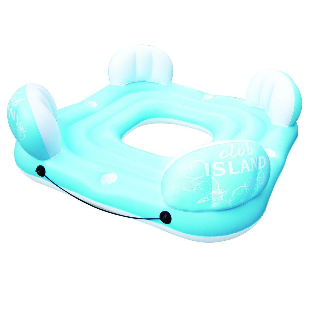 Poolmaster Club Island 4-Person Float