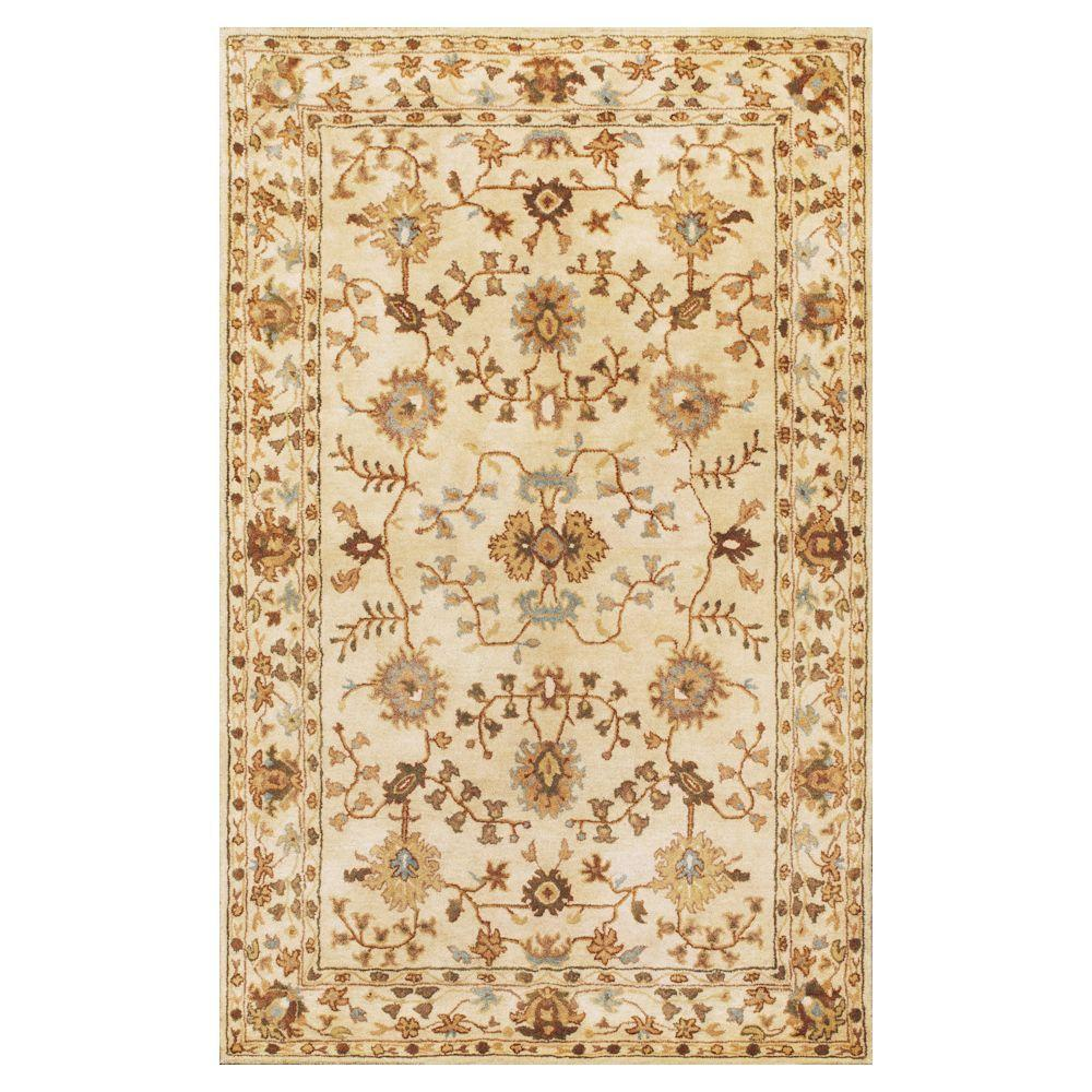 Antiquity Tabriz Ivory/Blue 8 ft. x 10 ft. 6 in. Area
