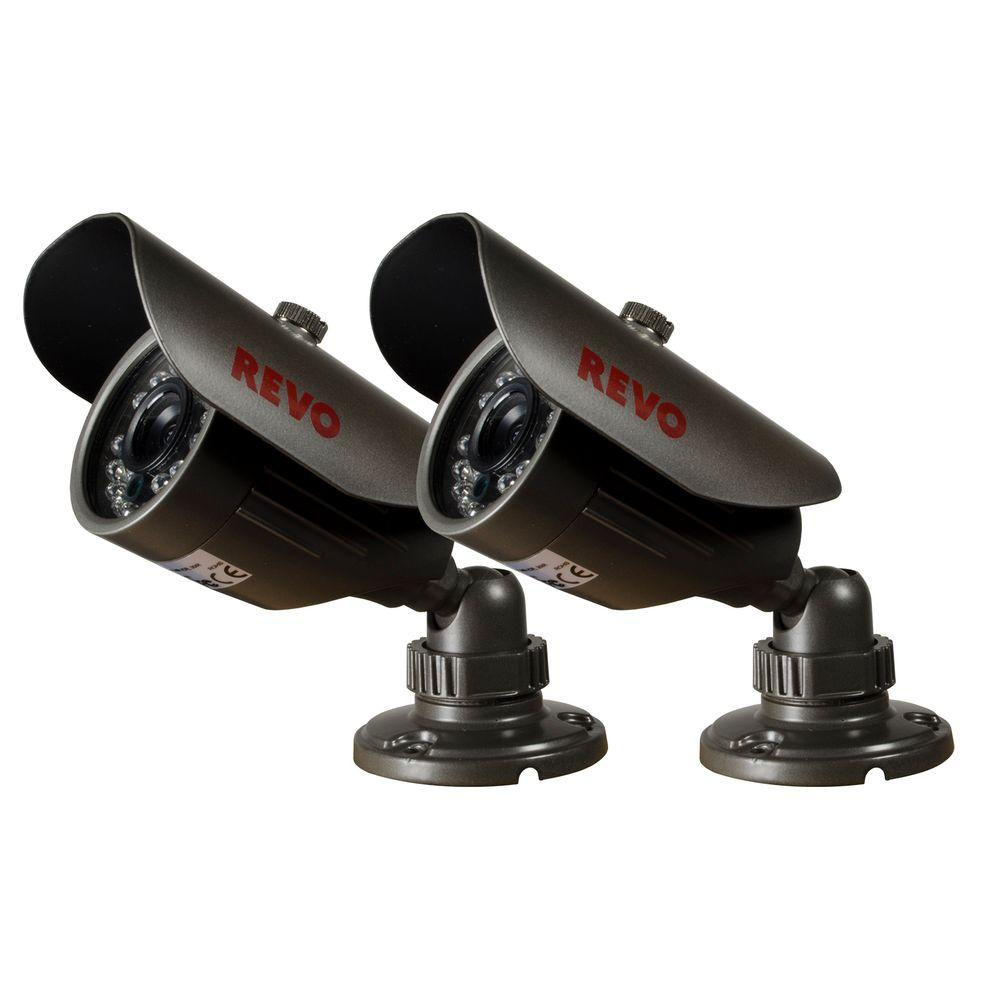 660TVL Indoor/Outdoor Bullet Surveillance Camera with 80 ft. Night Vision