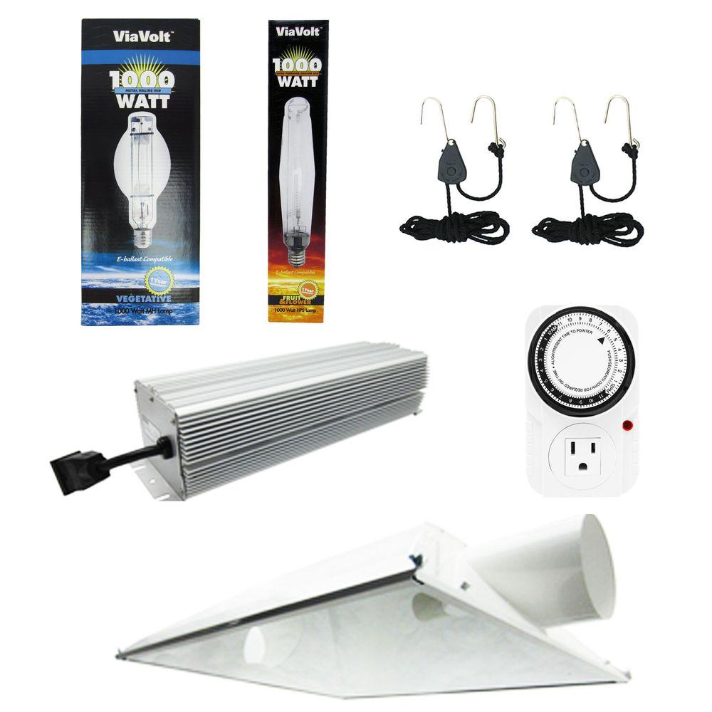 ViaVolt Super Sun Deluxe 6 in. Air Cooled Grow Light System-VSSDU6SYS