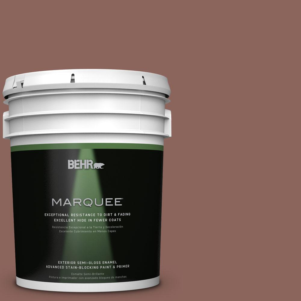 BEHR MARQUEE 5-gal. #BXC-52 Natural Copper Semi-Gloss Enamel Exterior Paint