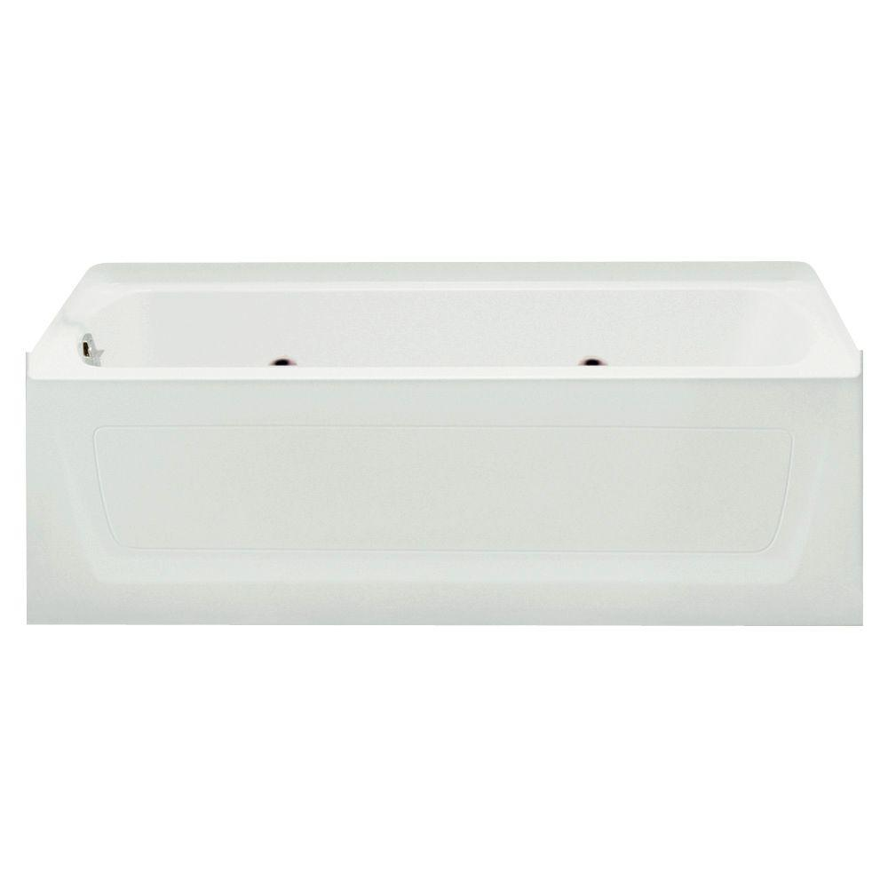 STERLING Ensemble 5 ft. Whirlpool Tub in White