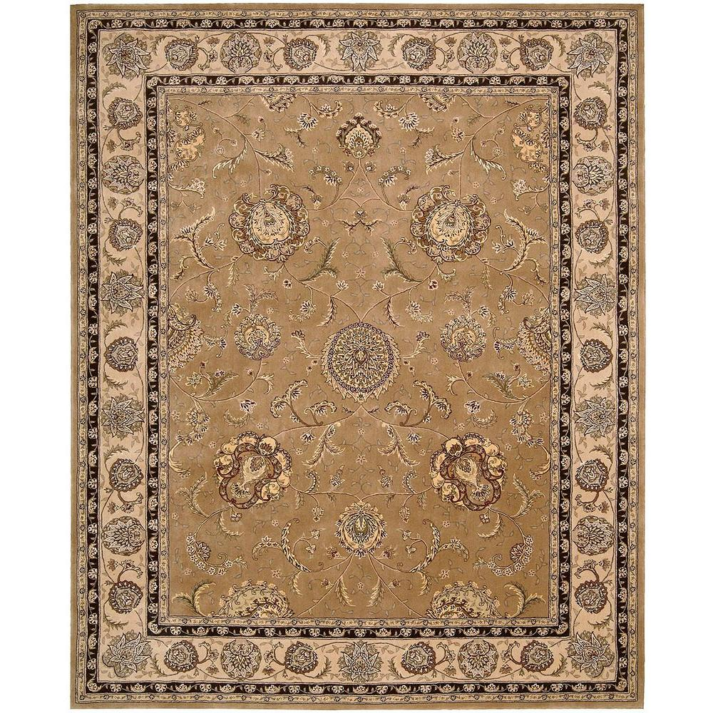 2000 Camel 7 ft. 9 in. x 9 ft. 9 in. Area Rug