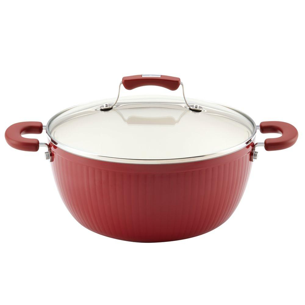 Savannah Collection 5.5 Qt. Casserole Dish with Lid