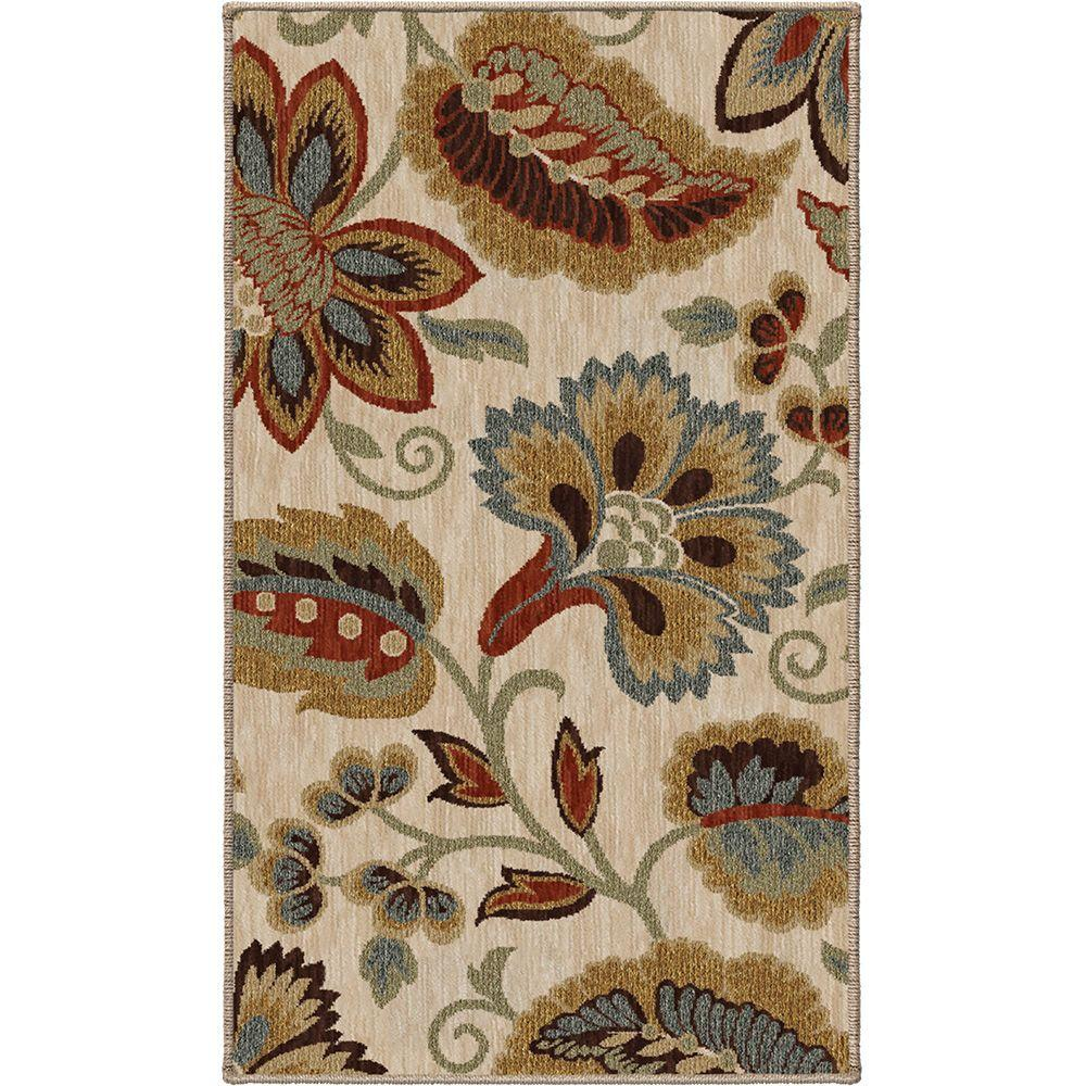 Orian Rugs Dooley Khaki 1 ft. 11 in. x 3 ft. 3 in. Accent Rug