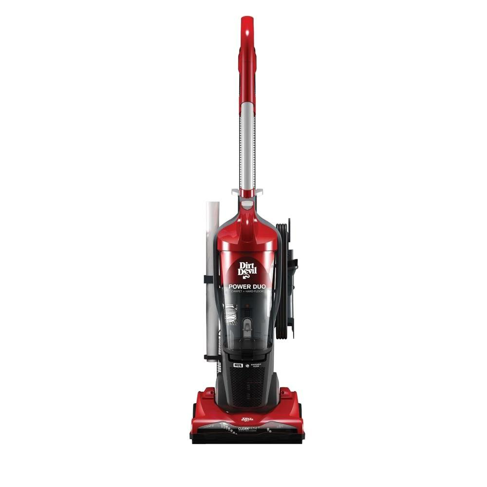 Compact Power Bagless Upright Vacuum Cleaner UD20130 The Home Depot