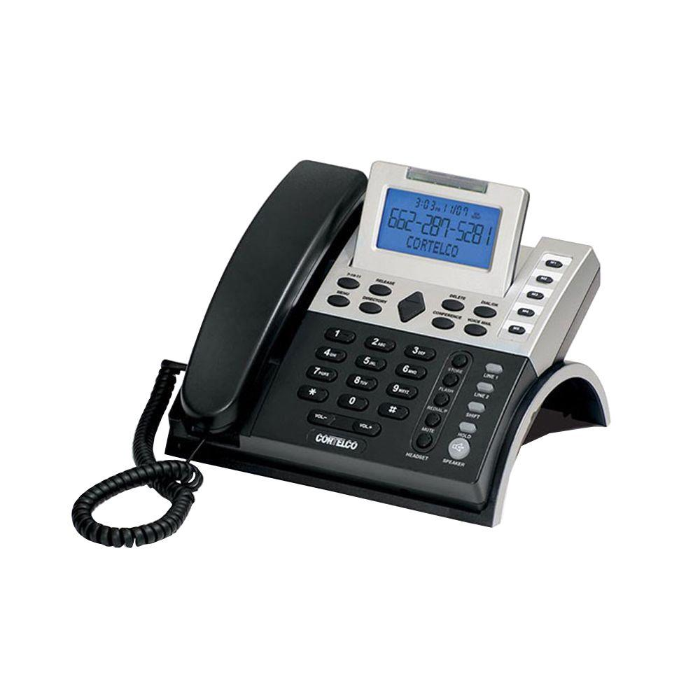 Cortelco Corded 2-Line Business Telephone with Caller ID-ITT-1220 - The Home