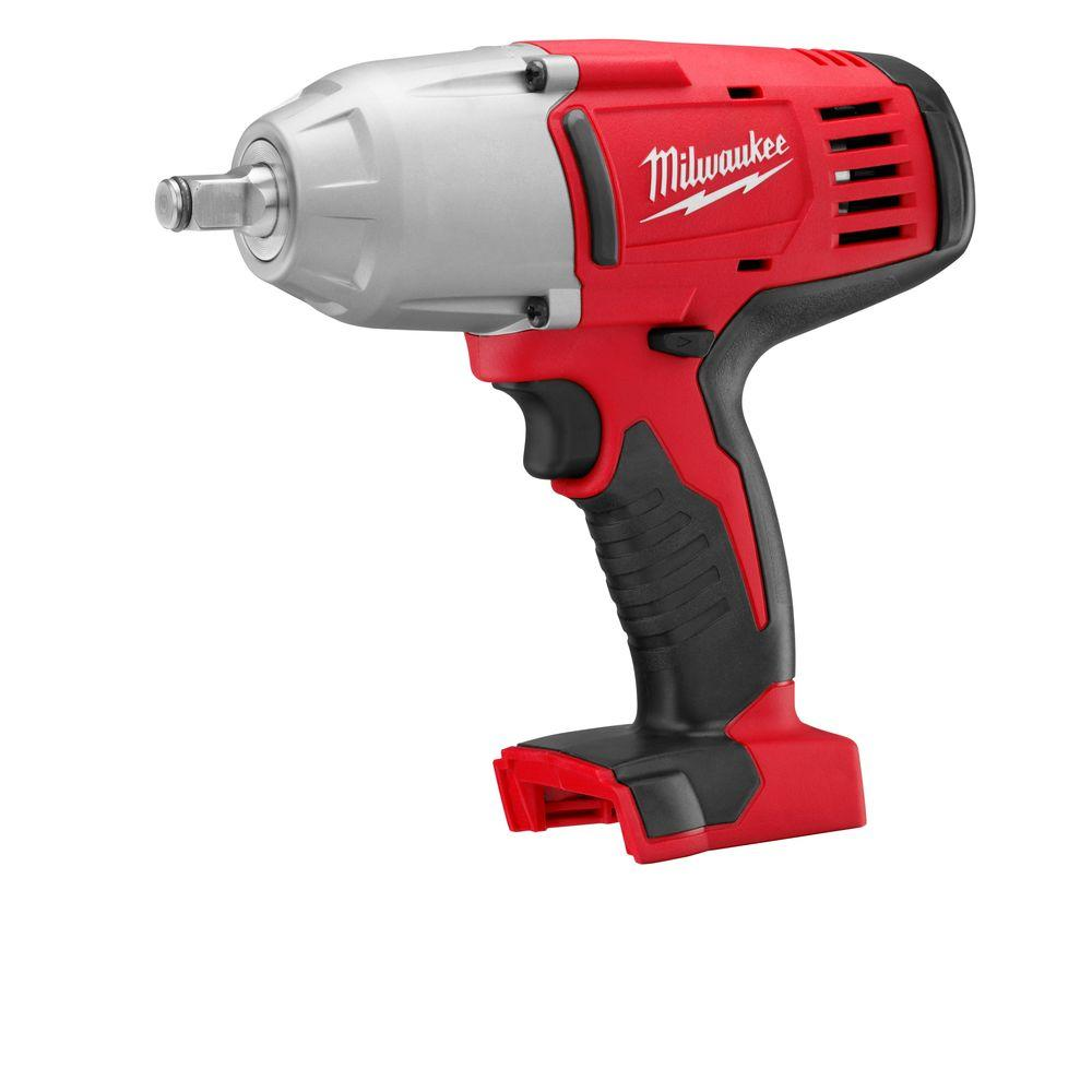 Milwaukee M18 18-Volt Lithium-Ion 1/2 in. Cordless High Torque Impact Wrench with Friction Ring (Tool-Only)