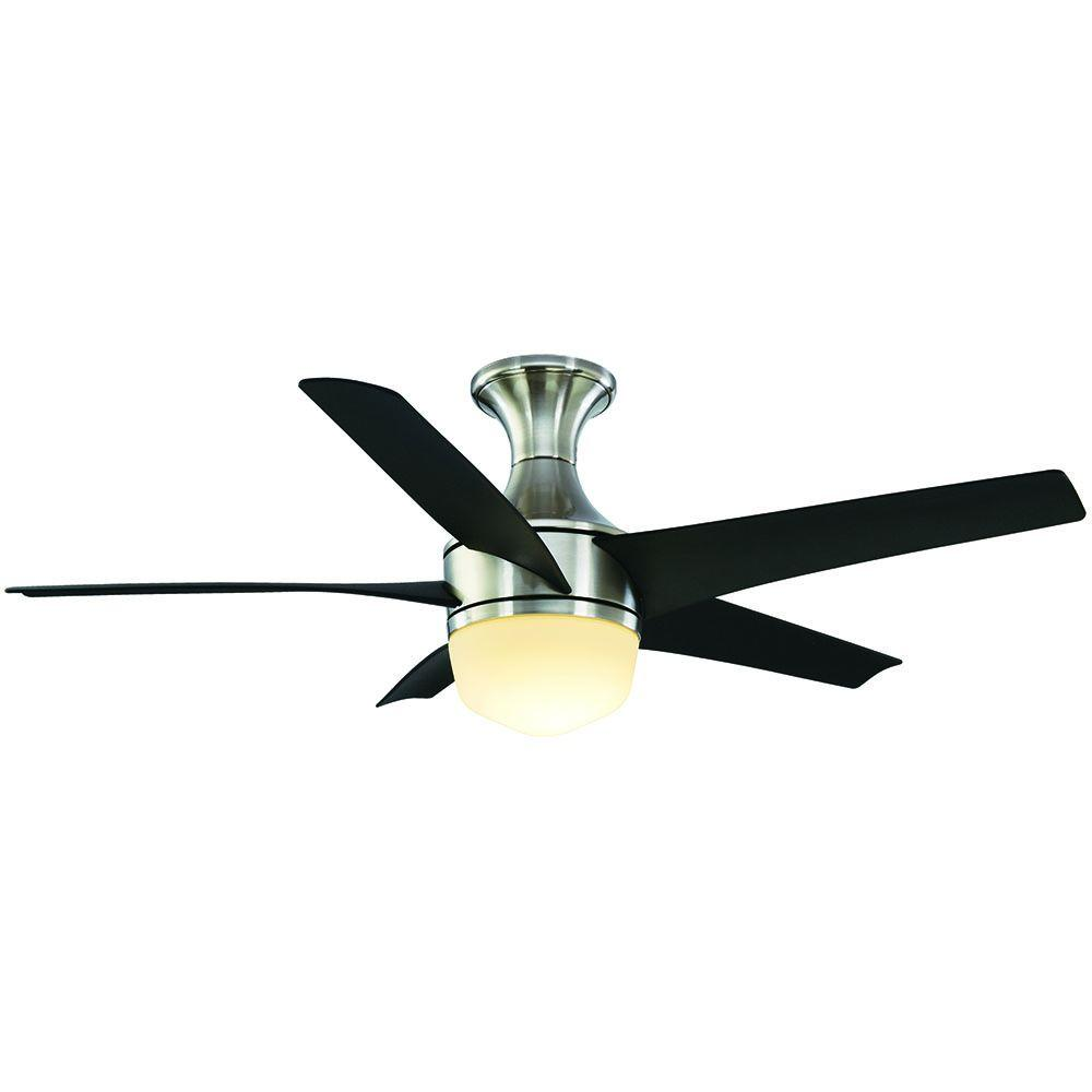 Tuxford 44 in. LED indoor Brushed Nickel Ceiling Fan