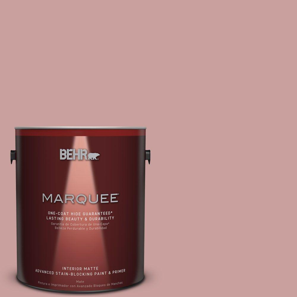 1 gal. #MQ1-13 Lady Guinevere One-Coat Hide Matte Interior Paint