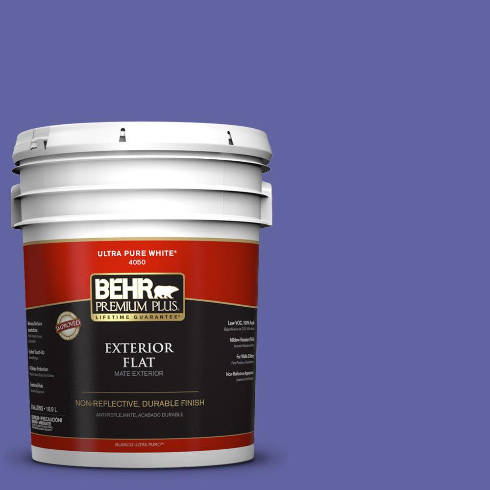 5-gal. #T13-9 Electrify Flat Exterior Paint