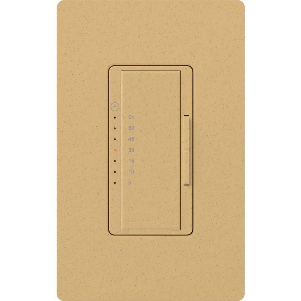 Lutron Maestro 5 Amp In-Wall Digital Timer - Goldstone-MA-T51-GS - The
