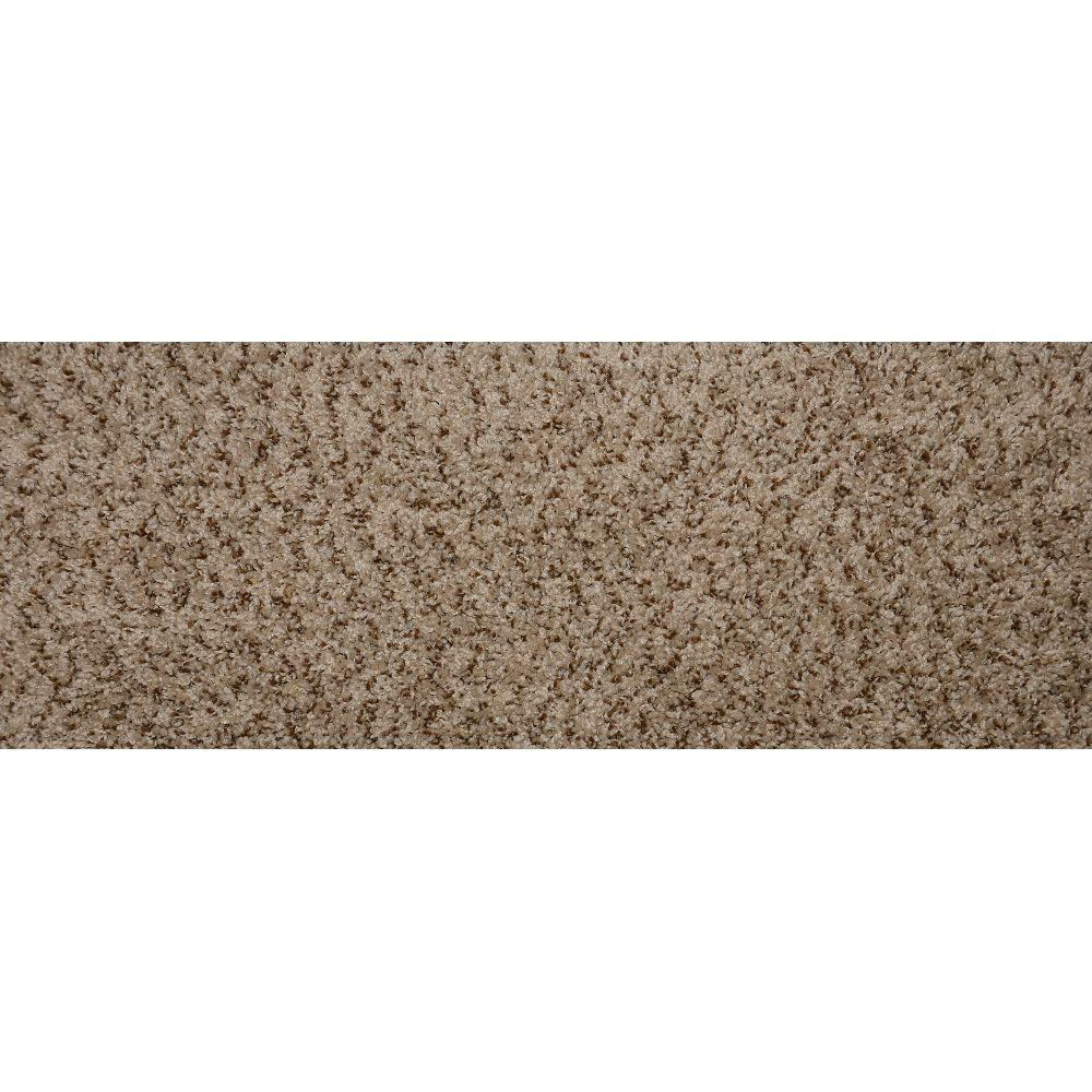 Simply Seamless Tranquility Toffee 10 in. x 31 in. Flat Traditional Stair Tread