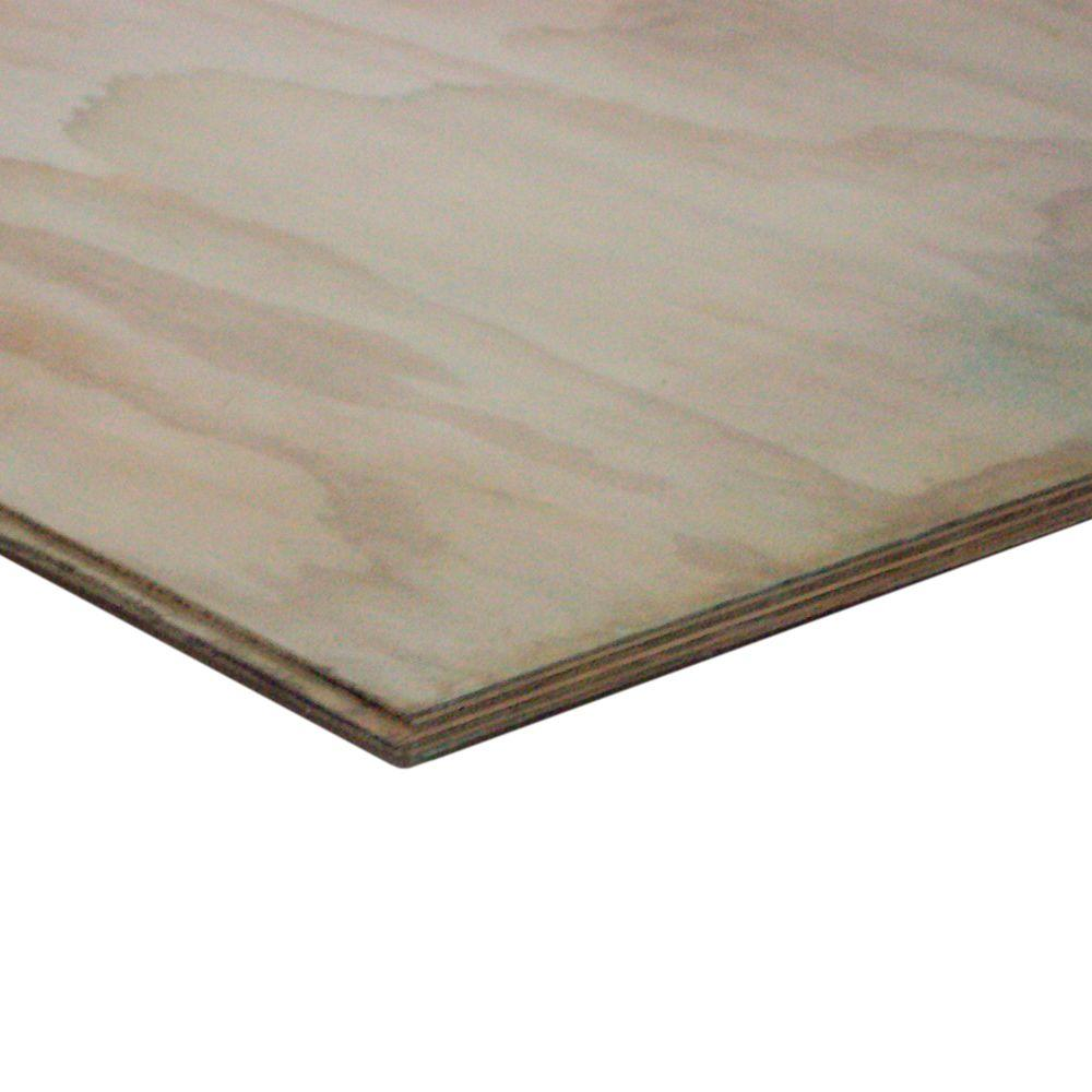null 3/4 in. x 4 ft. x 8 ft. Tongue & Groove Underlayment Pressure-Treated Plywood