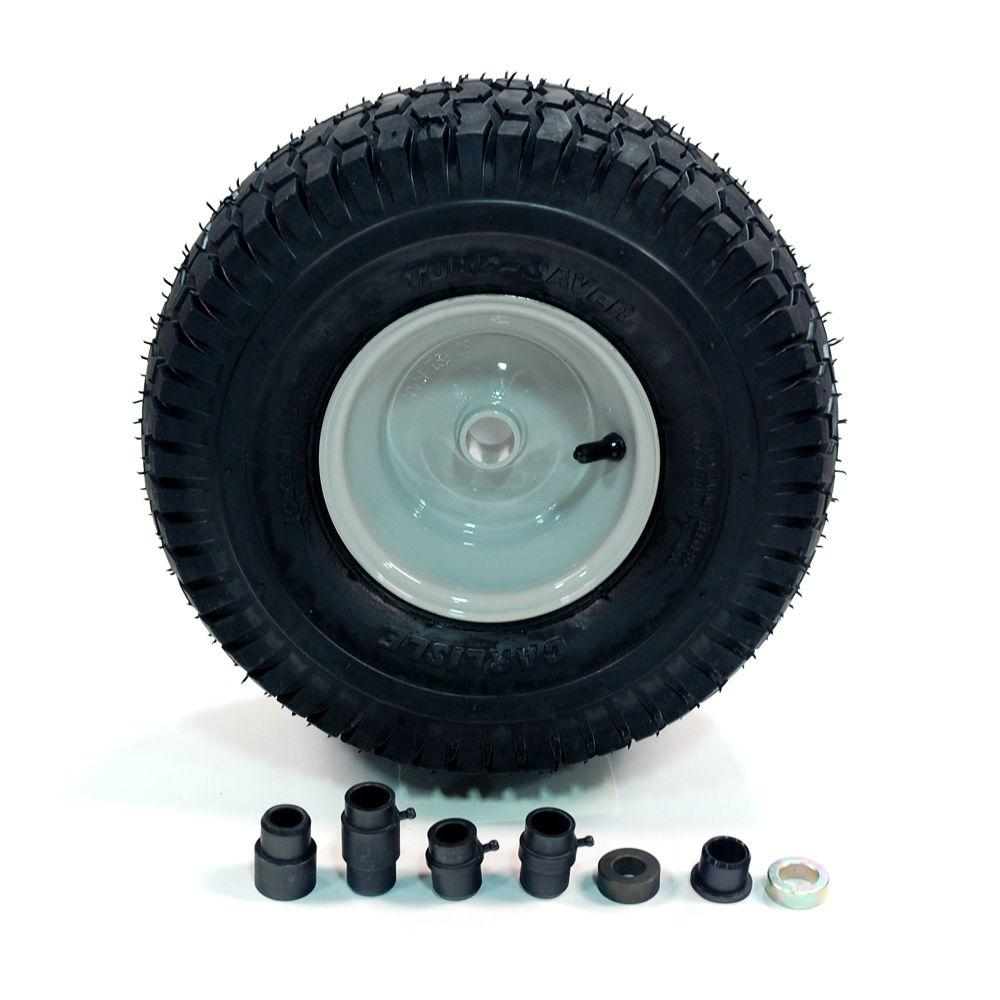 Arnold 15 in. Universal Front-Rider Wheel for Lawn Tractors