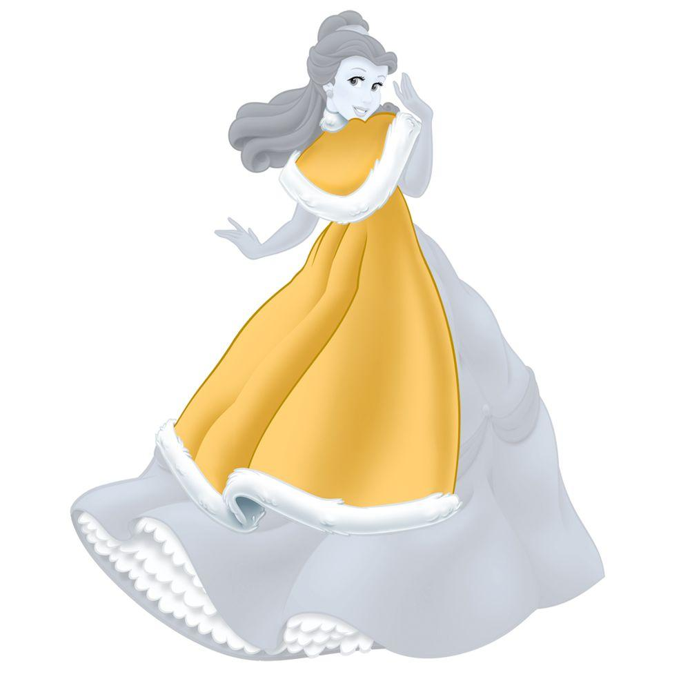 RoomMates Disney Princess-Belle Holiday Add On
