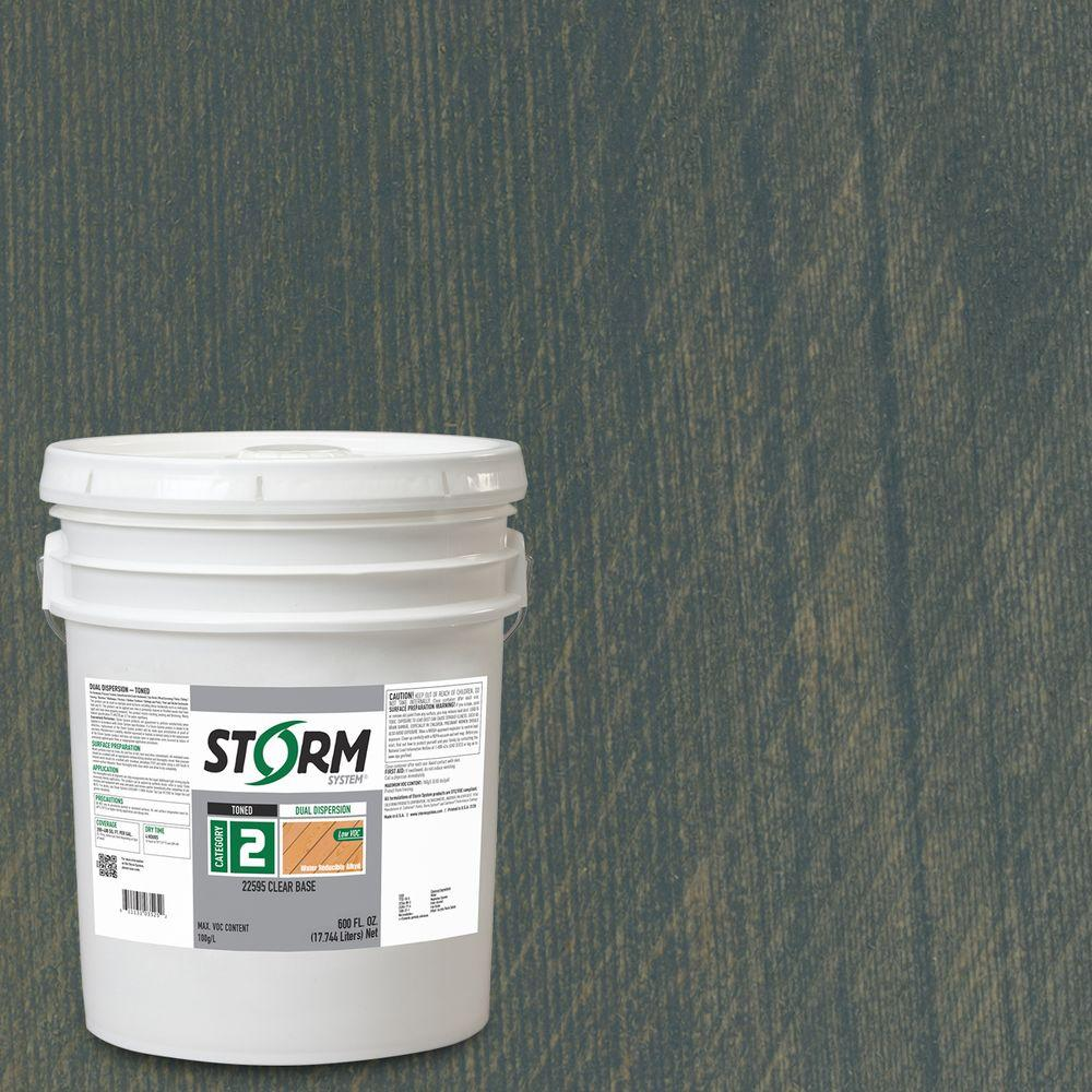 Storm System Category 2 5 gal. Under the Stars Exterior Semi-Transparent Dual Dispersion Wood Finish