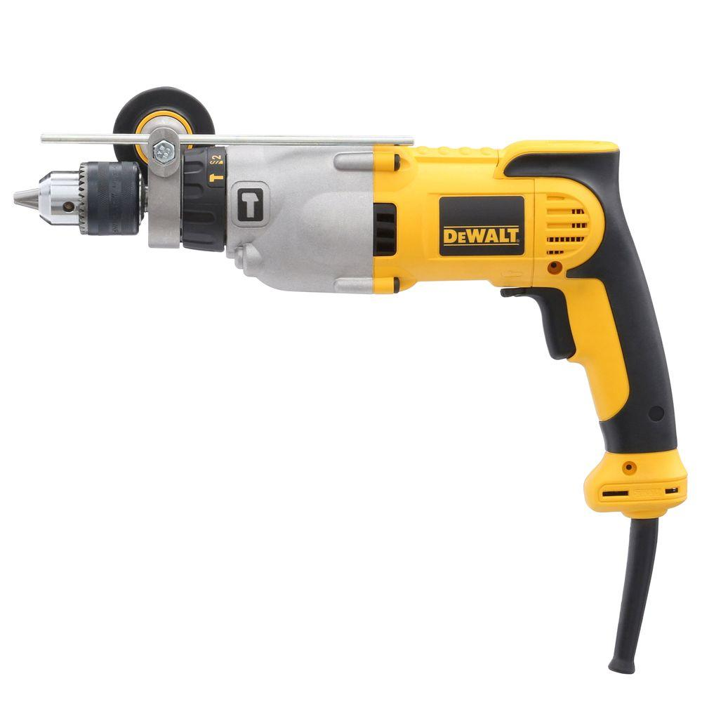 10 Amp 1/2 in. Variable Speed Reversible Pistol Grip Hammer Drill
